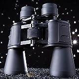 DHG Prismáticos Grandes Oculares 10X50 de Alta Potencia de Alta Definición de Gran Escala Visión Nocturna Binoculares de Visión,Negro,195 * 62 * 77 mm
