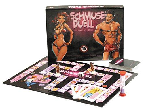 Schmuse-Duell Brettspiel für Erwachsene