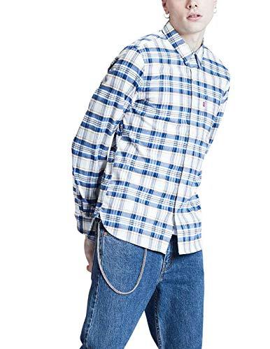 Camisa Levi'S Sunset 1 Pocket Cuadros Azul Hombre XL Azul
