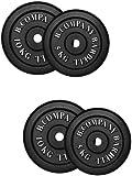 Guss 30,0Kg (2x5, 2x10) Hantelscheiben Hantel Gewichte Scheiben Hanteln 30/31mm