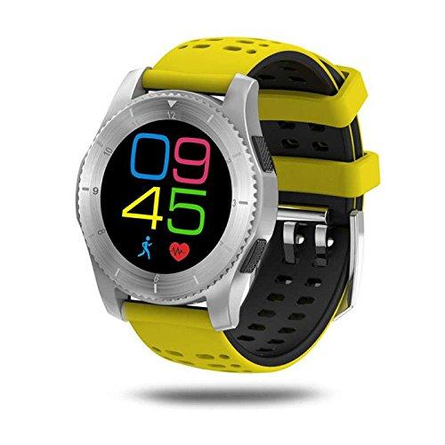 Schrittzähler armband herren Fitness tracker uhr Smartwatch SIM Call Message Push Pulsmesser Fitness Smartwatch für android Apple Smartphones