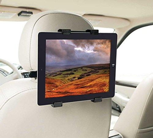 Supporto tablet auto supporto auto tablet supporto tablet per auto supporto poggiatesta tablet supporto auto per tablet supporto da auto universale valido per tablets fino a 14': iPad 2/3/4/ , Ipad Air, Ipad Mini, Galaxy Tab/Tab S/Note Pro, Nexus 7, Kindle Fire HD 6/7 Fire HDX 7/8.9 Fire 2, etc. Nero