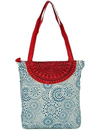 pick pocket Women's Tote Bag (Blue) (toblurcircle9)