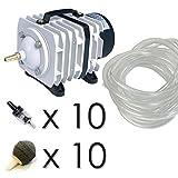 Kolben Replica Luftpumpe für Aquarien/Koi Teich Hydrokultur-Set–Boyu 100L/min