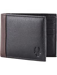 WildHorn Black Men's Wallet (WHGW13)