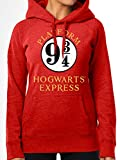 Hooded Sweatshirt (Unisex-S) 9 and 3 Quarters Hood (Red)