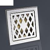 HCP nucleo odore scarico a pavimento in acciaio inox/scolo piano balcone/copertina scarico a pavimento a basso costo-A