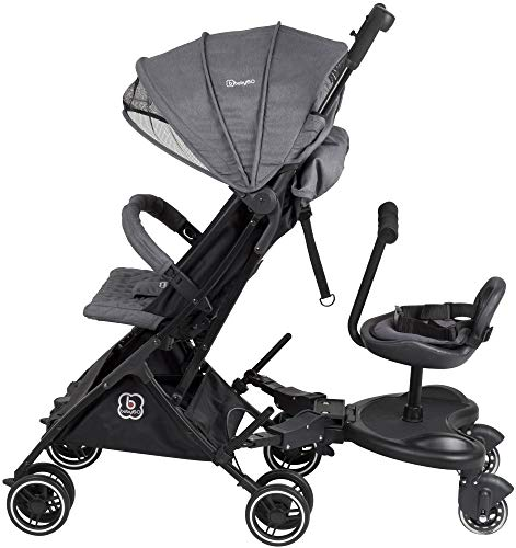 Babygo WeGo Buggyboard universal, Trittbrett für Kinderwagen + Sitz 68002