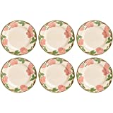 Franciscan Desert Rose Plates 28cm, Set of 6 (SECOND QUALITY)*