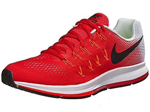 Nike Air Zoom Pegasus 33 Red Running Sport Shoes For Mens  available at amazon for Rs.3999