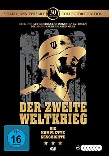 Der Zweite Weltkrieg-die Komplette Geschichte. [6 DVDs]