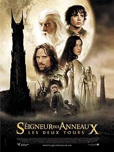 Le seigneur des anneaux 2 Affiche 120x160 cm pliée - Poster CineShopping