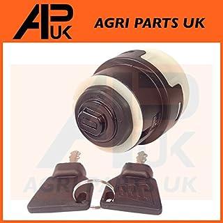 APUK JCB 3CX Ignition Switch Starter 2 Keys JCB Parts fits many Digger Plant 701/80185