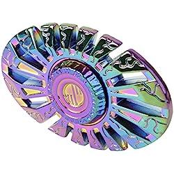 Finger spinner, multicolor Hand Spinners Toy de Aleación de aluminio Alta Velocidad Larga Duracion 3-5 Minutos Reductor de ADHD EDC Autism para Adultos o Niños 4