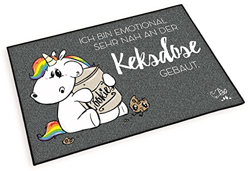 Fußmatte Pummeleinhorn Deluxe - Keksdose