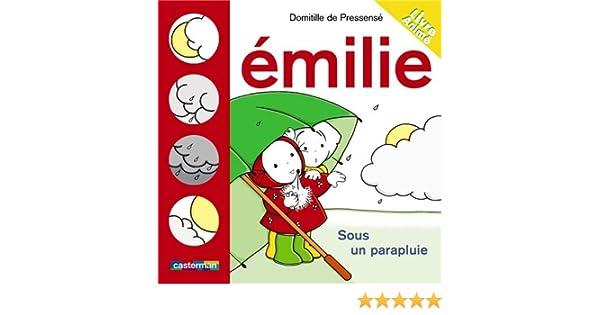 Amazon Fr Emilie Flip Flap Emilie Sous Un Parapluie Domitille