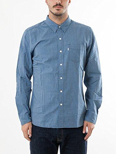 Levi's Herren Freizeit-Hemd Blau
