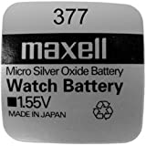 Maxell SR626SW 377 Knopfzelle, Silberoxid, 1.55V