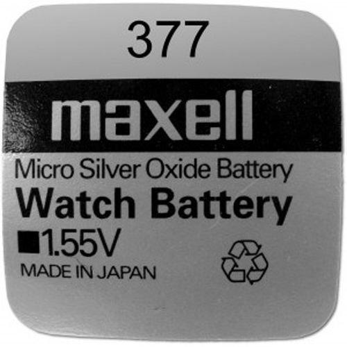 Maxell - SR626SW Pila de botón de 1,55 V / 1 unidad