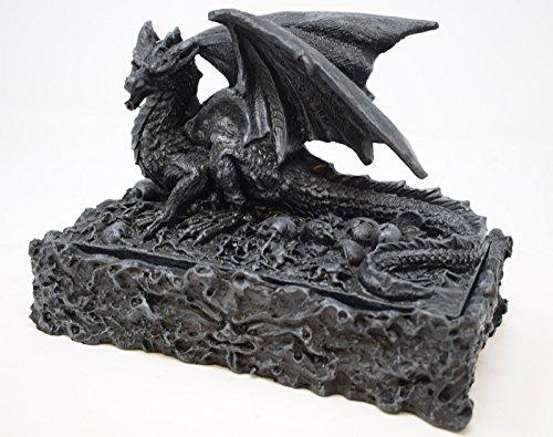 Caja de recuerdos de dragón negro