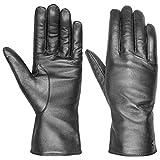 Roeckl Scotchgard Leder Damenhandschuhe Winterhandschuhe Fingerhandschuhe (7 1/2 HS - silber)