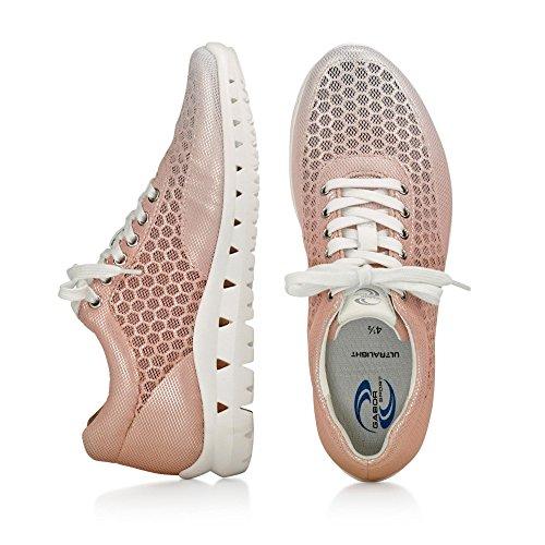 Donne Sneaker Gabor sportiva 64.331.49 grigio dimensione combinatoria 37,5-40,5 Rosa