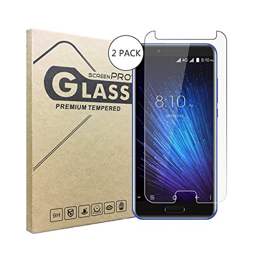 2 Stück Panzerglasfolie Tempered Glass Hartglas Schutzfolie für Blackview P6000,0.3mm clear 2.5D 9H Hardness aus gehärtetem Glas Ultra Clear Panzerglas Transparent Folie für Blackview P6000