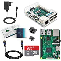 Vilros Raspberry Pi 3 Model B Complete Starter Kit --mit 5 Wesentlich Zubehör