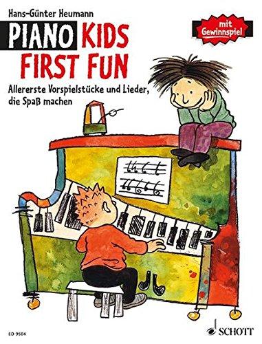 Piano Kids First Fun: Allererste Vorspielstücke und Lieder, die Spaß machen. Klavier. (Barbie Danke)