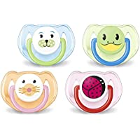 Philips AVENT SCF182/34 BPA-Free Animal Soothers (6-18 Months) Designs May Vary