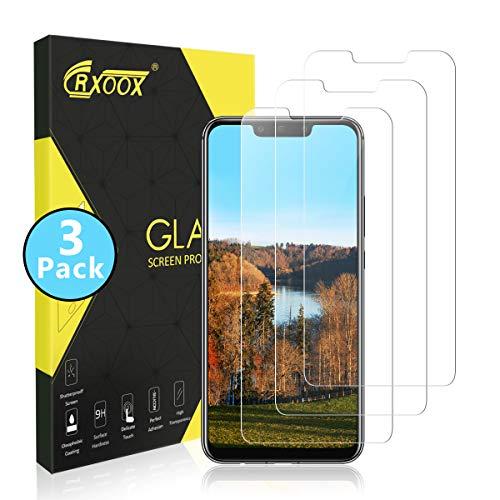 CRXOOX 3 Stück Panzerglasfolie Schutzfolie für Huawei Mate 20 Lite Panzerglas Ultra-klar Anti-Kratzen, Anti-Fingerabdruck Blasenfrei Einfache Installation Bildschirmschutzfolie Folie für Mate 20 Lite