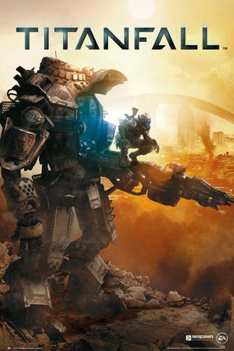 Titanfall Poster cover + accessori