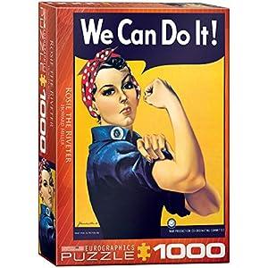 EuroGraphics - Rompecabezas Todo es Rosie, 1000 Piezas (EG60001292)