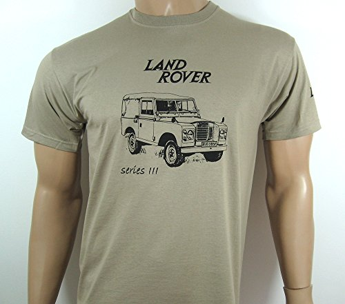 LAND ROVER Series 3 T-SHIRT in Khaki - size XXL (47 to 49
