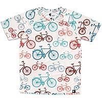 Camiseta Running Niño, Niña, Manga Corta, Gimnasio #Bike Talla 10