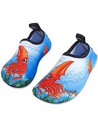 Scarpe da Acqua Bambini Ragazze Ragazzi Scarpe da Mare da Spiaggia da  Immersione per Sportive Acquatici 16f50ef5f2f