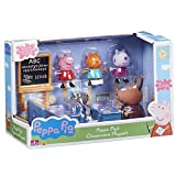Peppa Pig Jouet salle de classe Figurines Madame Gazelle & Peppa Pig de figures Peppa Pig & ses amis 1 paquete