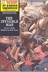 Classics Illustrated #2: The Invisible Man (Classics Illustrated Graphic Novels) by H. G. Wells (2008-06-24)