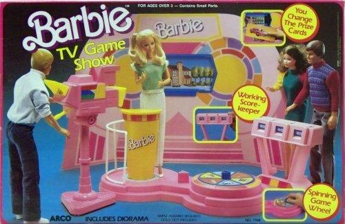 Barbie Mattel Arco TV Game Show 1987
