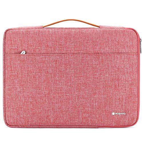 NIDOO 14 Zoll Laptop Tasche Sleeve Hülle Aktentasche Laptoptasche Umhängetaschen für 14