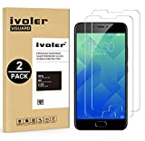 [Lot de 2] Meizu M5 Protection écran, VGUARD Film Protection d'écran en Verre Trempé Glass Screen Protector Vitre Tempered pour Meizu M5 - Dureté 9H, Ultra-mince 0.20 mm, 2.5D Bords Arrondis- Anti-rayure, Anti-traces de doigts,Haute-réponse, Haute trans