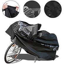 Funda Bicicleta,Funda para Bicicleta Impermeable NAKEEY Funda de Protección Bicicleta Funda Bici de Resistente Proteger Bici del Sol lluvia Polvo Anti UV 200x 100CM