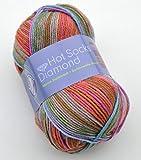 Gründl Hot Socks Diamond Farbe 04 Sockenwolle mit Merino / Merinowolle