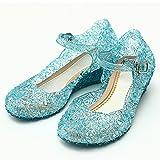 Vetements Chaussures Et Bijoux Best Deals - KATARA - Ballerines de la princesse Elsa Reine des Neiges pour Filles Taille 30 - Bleu