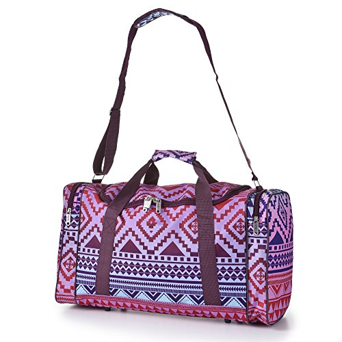 5 Cities leggero mano bagaglio a mano Sized Borsone (Multi Aztec)