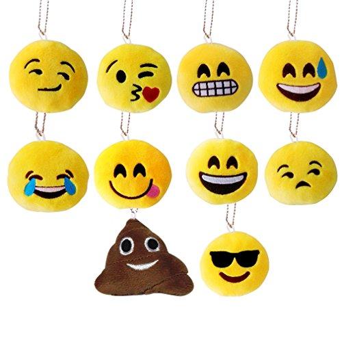 steily-emoji-mini-porte-cles-cute-10cm-porte-cles-en-peluche-set-de-10-pour-cadeau-de-fete