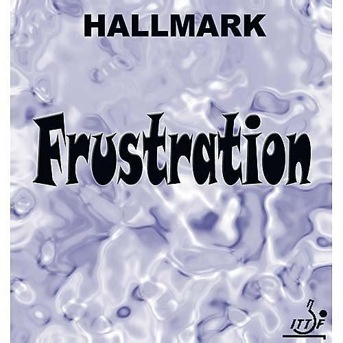 Frustration Hallmark caoutchouc