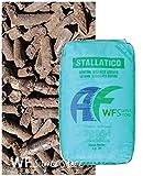 WUEFFE S.R.L. Stallatico Pellet - Sacco da kg 25 - Concime Naturale ammendante pellettato