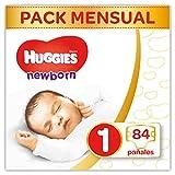 Huggies Newborn - Pañales Recién Nacido Talla 1 (2-5 kg) - 84 Pañales