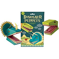 dinosaur puppets activity set